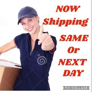 Get your items FAST! Now shipping same or next day